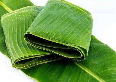 banan-leaves